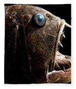 Deep Sea Fangtooth Fleece Blanket