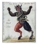 Demonology, 18th Century Fleece Blanket