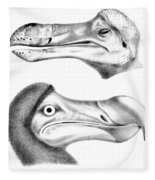 Dodo Bird, Hunted To Extinction Fleece Blanket