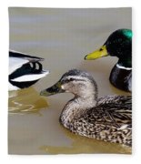 Ducks Fleece Blanket