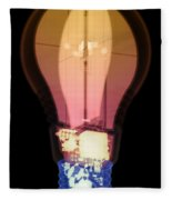 Energy Efficient Led Light, X-ray Fleece Blanket
