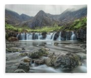 Fairy Pools - Isle Of Skye Fleece Blanket