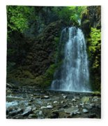 Fall Creek Falls Fleece Blanket