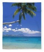 Fiji, Kadavu Island Fleece Blanket