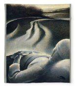 File7245 Andrew Wyeth Fleece Blanket