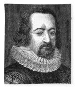 Francis Bacon, English Polymath Fleece Blanket