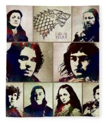 Game Of Thrones. House Stark. Fleece Blanket