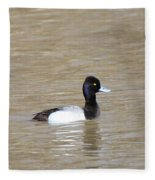 3 Greater Scaup  4060 Fleece Blanket