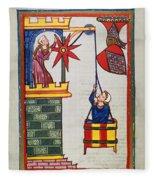 Heidelberg Lieder, 14th C Fleece Blanket