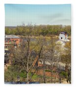 3-hermann Mo Triptych Right_dsc3992 Fleece Blanket