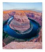 Horseshoe Bend Near Page Arizona Fleece Blanket