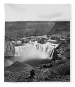Idaho: Snake River Canyon Fleece Blanket