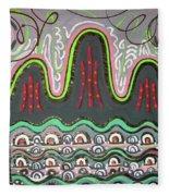 Ilwolobongdo Abstract Landscape Painting2 Fleece Blanket