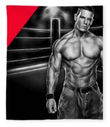 John Cena Wrestling Collection Fleece Blanket