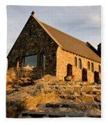 Lake Tekapo New Zealand Fleece Blanket