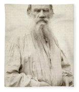 Leo Tolstoy (1828-1910) Fleece Blanket