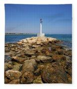 Liopetri Beach Fleece Blanket