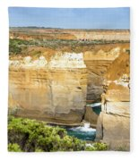 Loch Ard Gorge Fleece Blanket