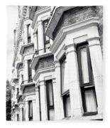 London Houses  Fleece Blanket