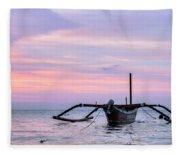 Lovina - Bali Fleece Blanket