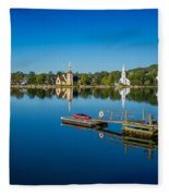 Mahone Bay Fleece Blanket