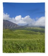 Maui Haleakala Crater Fleece Blanket