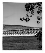 Mcnary Dam Fleece Blanket