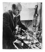 Melvin Calvin, American Chemist Fleece Blanket
