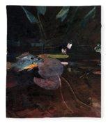 Mink Pond Fleece Blanket