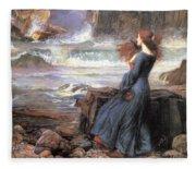 Miranda - The Tempest Fleece Blanket