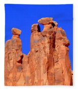 Moab Landscape Fleece Blanket