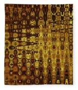 Mushroom Abstract Fleece Blanket