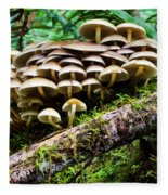 Mushrooms Fleece Blanket