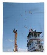 Outer Banks Nc Fleece Blanket