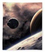 Planets Fleece Blanket