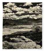 Pleasant Valley Colorado Fleece Blanket