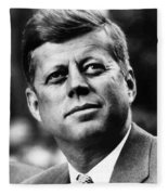 President Kennedy Fleece Blanket