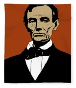 President Lincoln Fleece Blanket by War Is Hell Store