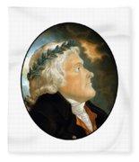 President Thomas Jefferson - Two Fleece Blanket