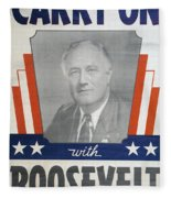 Presidential Campaign, 1940 Fleece Blanket