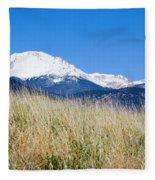 Red Rock Canyon Open Space Park Fleece Blanket