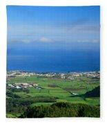 Ribeira Grande - Azores Fleece Blanket
