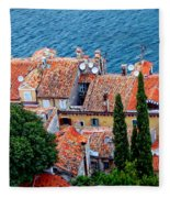 Rovinj - Croatia Fleece Blanket