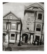 San Francisco Earthquake Fleece Blanket