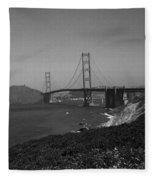 San Francisco - Golden Gate Bridge Fleece Blanket