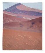Sand Dune, Sossusvlei, Namib Desert Fleece Blanket