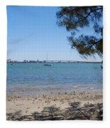 Sarasota Bay Fleece Blanket