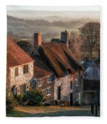 Shaftesbury - England Fleece Blanket