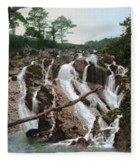 Snowdonia National Park Fleece Blanket