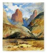 South Utah Fleece Blanket